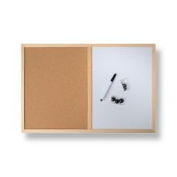 Pinnwand mit Stift und Pins