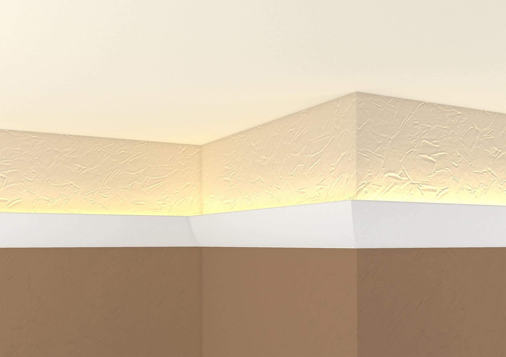 Lichtleisten f r indirekte beleuchtung pvg - Lichtleiste wand ...