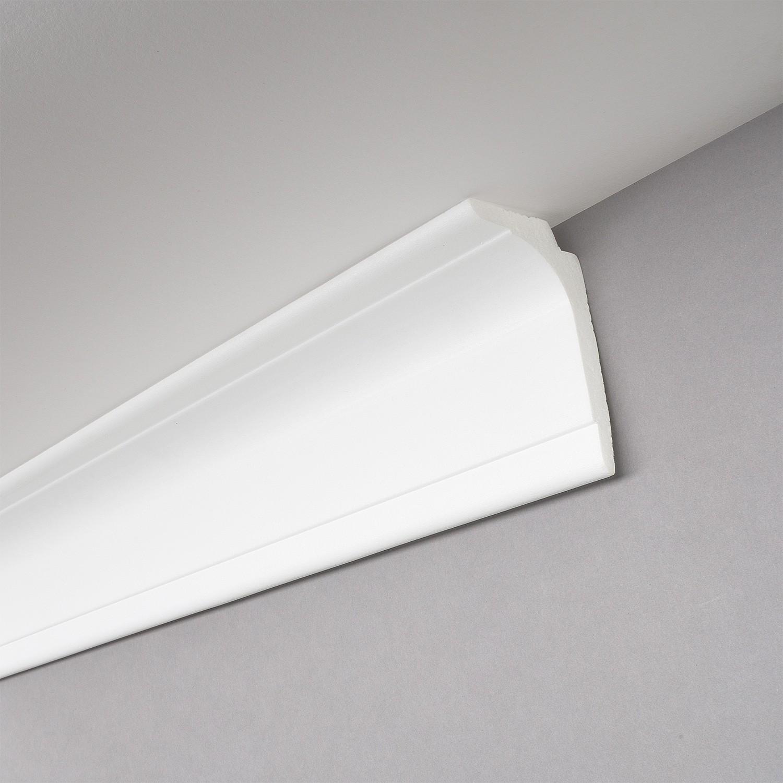 Deckenleiste Indirekte Beleuchtung | Die Lichtleiste L100 Auch Als Gardinenschiene Und Stuckleiste