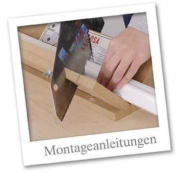 Montageanleitung Stuckleisten, Rosetten, Deckenplatten, Sockelleisten