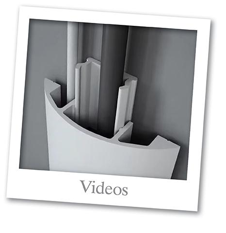 Videos von Decosa mit Gehrungsschneiden, Kabelkanal und Zierleisten