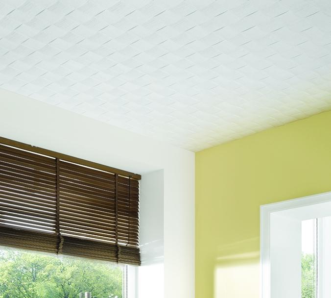 Deckenplatten, Deckenpaneelen und Randleisten